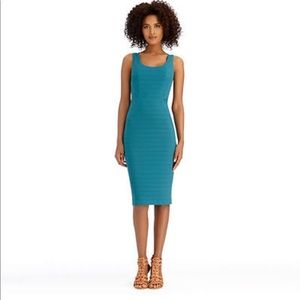 Rachel Roy rubbed tank dress green 4